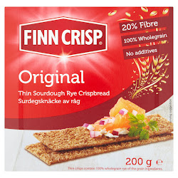 Finn Crisp Original Thin Sourdough Rye Crispbread - 200g