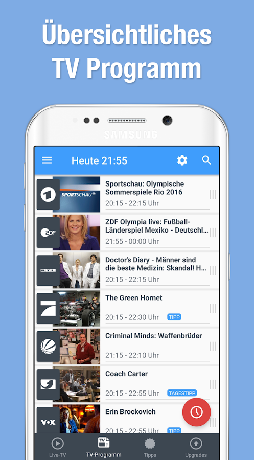 TV App Live Mobile Television- screenshot