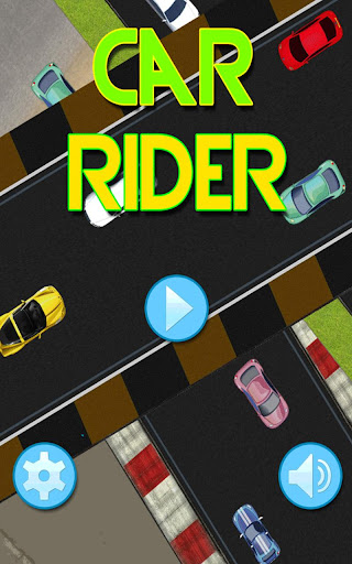 Car Race - The Car Rider