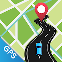 GPS Voice Navigation - Route Finder & Directions icon