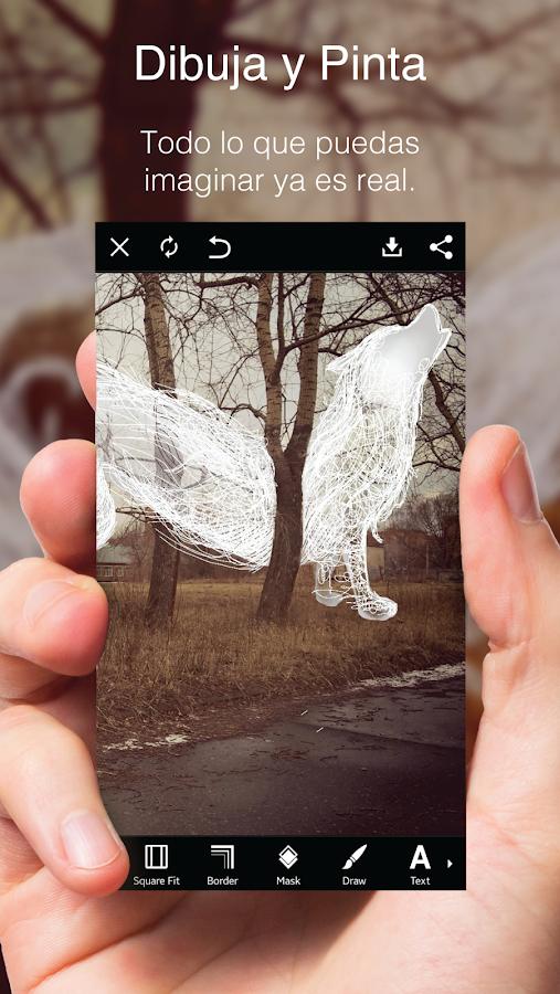 PicsArt Estudio de Fotografía: captura de pantalla