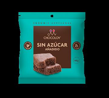 Ponqué Chocolov Brownie   Cero Azúcar X80G. X1Und.