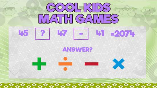 Cool Kids Math Games - náhled
