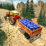 Offroad Cargo Tractor Driving Simulator 2018