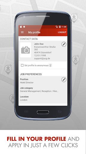 Hotel Jobs - HOTELCAREER 4.7 screenshots 5
