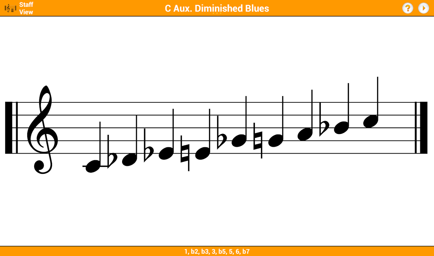 KeyChord - Piano Chords/Scales- screenshot