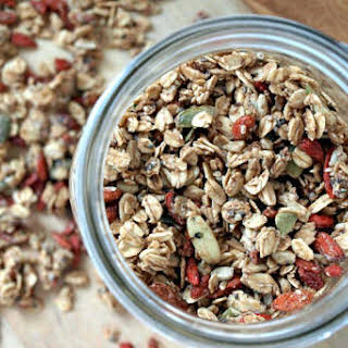 Seeds and Goji Berry Granola.