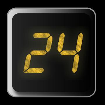 24 Clock Widget