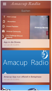 amacup radio- screenshot thumbnail