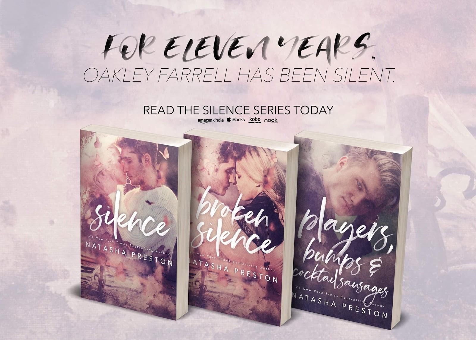 Blog Tour & Spotlight: Silence Series by Natasha Preston