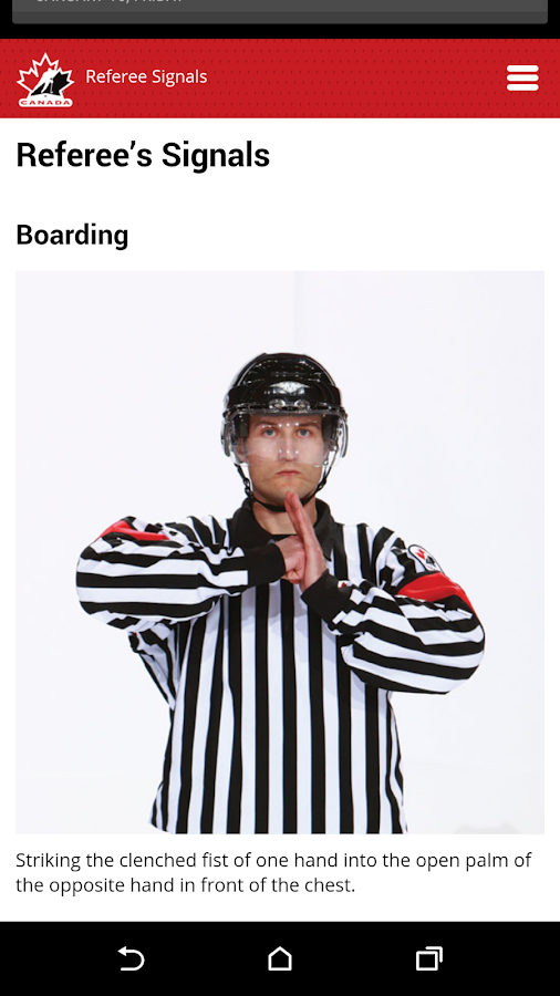 Hockey Canada Rule Book- screenshot