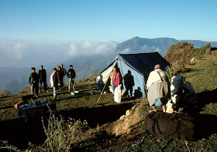 Photo: Camp au-dessus de Bhalche