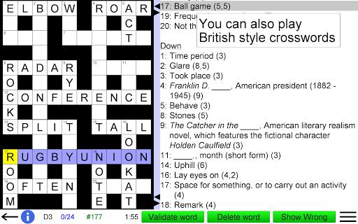 Arrow Crossword screenshots 10