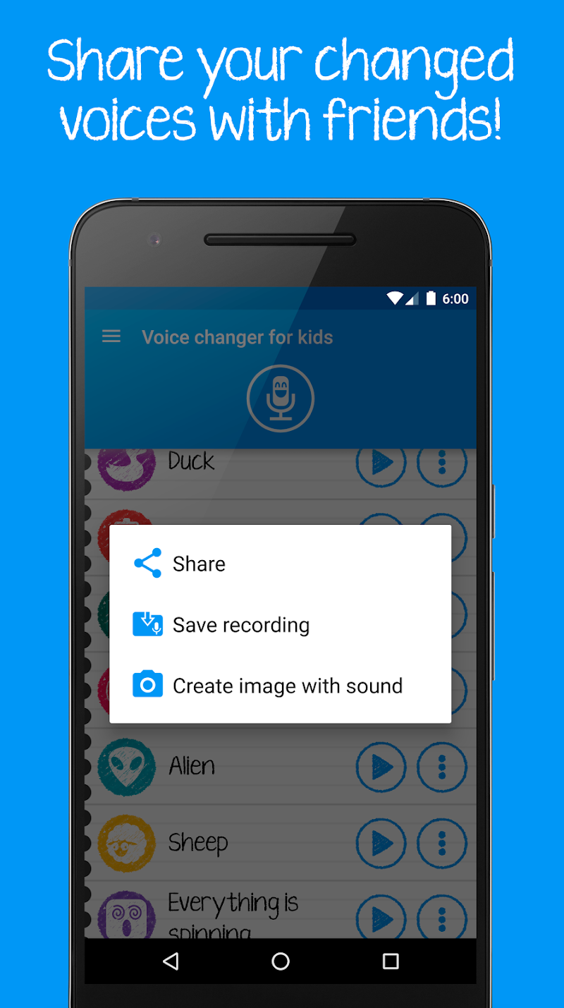 Voice changer for kids and families Screenshot 4