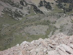 Photo: dépression en haut de la vallée de Planès, juste avant le verrou de la Conca