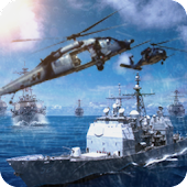 Modern Navy Gunship Sea War 3D