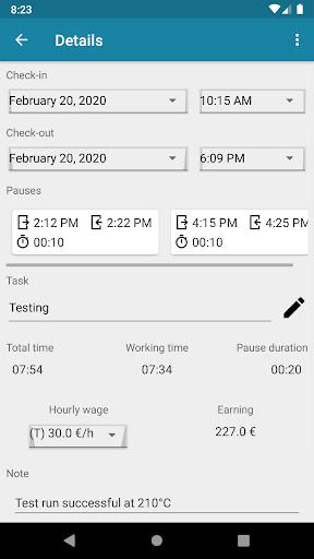 Timesheet - Time Tracker ss2