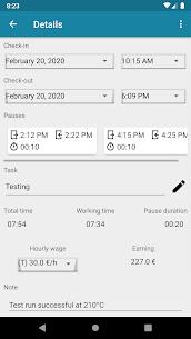 Timesheet – Time Tracker 2.0 (MOD + APK) Download 2