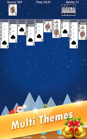 Spider Solitaire - Christmas 2.5 screenshot 618628