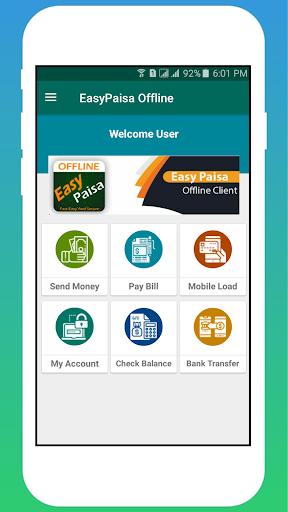 Offline Account For EasyPaisa *786# 1.02 screenshots 1