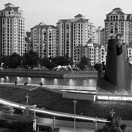 by Koh Chip Whye - Black & White Buildings & Architecture (  )