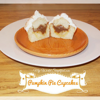 Pumpkin Pie Filled Cupcakes Recipes