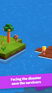 Idle Arks: Build at Sea MOD APK 2.2.2 [Unlimited Wood + Diamonds] 2