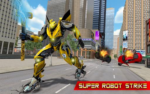 Grand Hammer Robot - Hammer Robot Fighting Game 5 screenshots 8