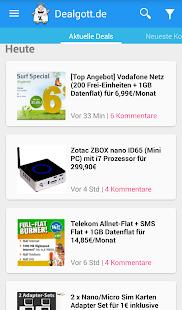 Dealgott - Schnäppchen App- screenshot thumbnail