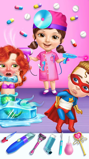 Superhero Hospital Doctor - Crazy Kids Care Clinic 3.0.4 screenshots 3