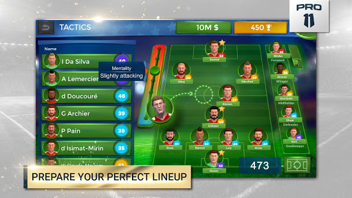 Pro 11 - Soccer Manager Game apkmr screenshots 2