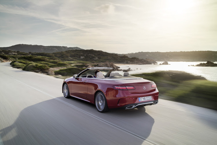 Cabriolet models feature heated seats and the firm's ingenious air-scarf system.