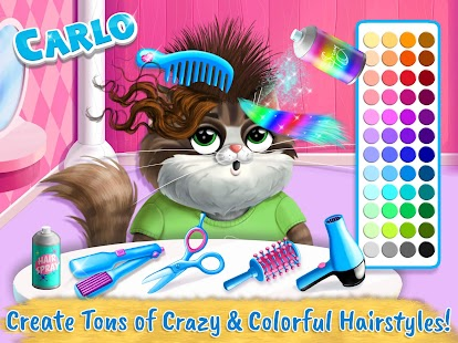 Farm Animals Makeover - Cute Virtual Pet Salon- screenshot thumbnail