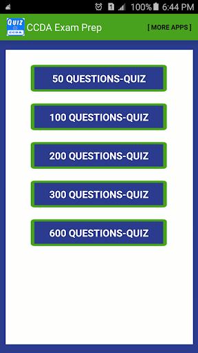 CCDA Quiz Questions