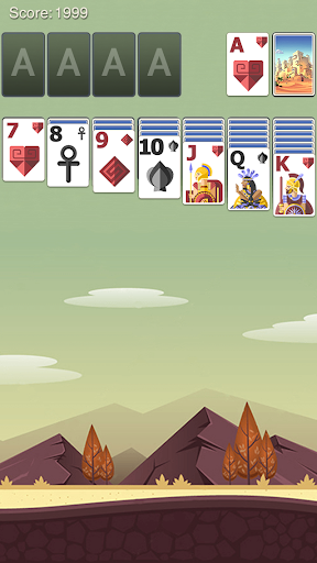Solitaire Ancient Fable Theme