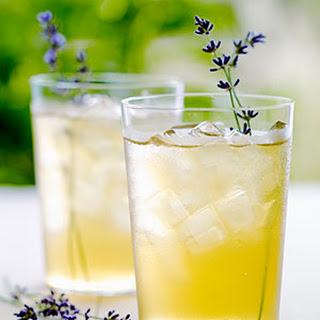 Iced Lavender Green Tea.