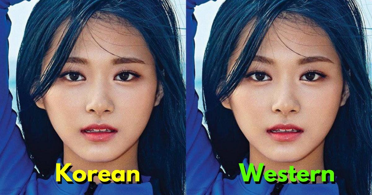 Here S How 10 Female Idols Would Look With Korean Vs Western Style Eyebrows Koreaboo