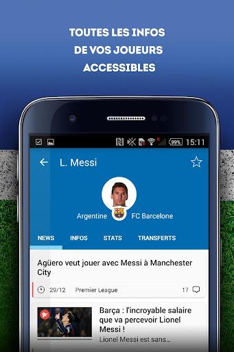Foot Mercato : transferts, ru00e9sultats, news, live 3.6.10 screenshots 7
