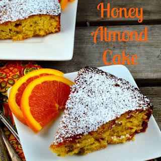 Orange Almond Honey Cake.