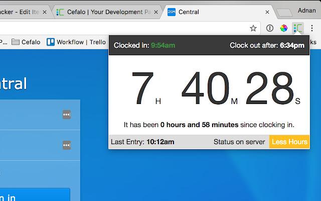 Cefalo Time Tracker