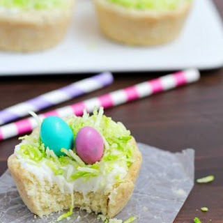 Easter Nest Sugar Cookie Cups