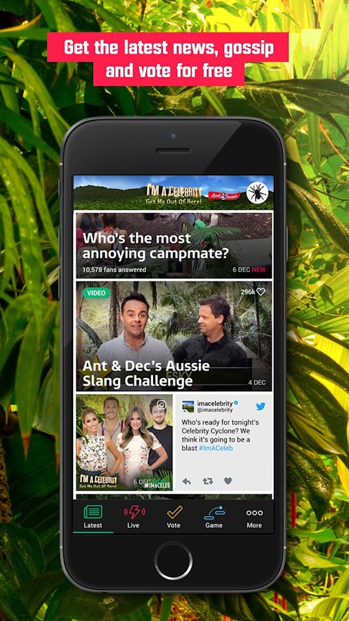 I'm A Celebrity- screenshot