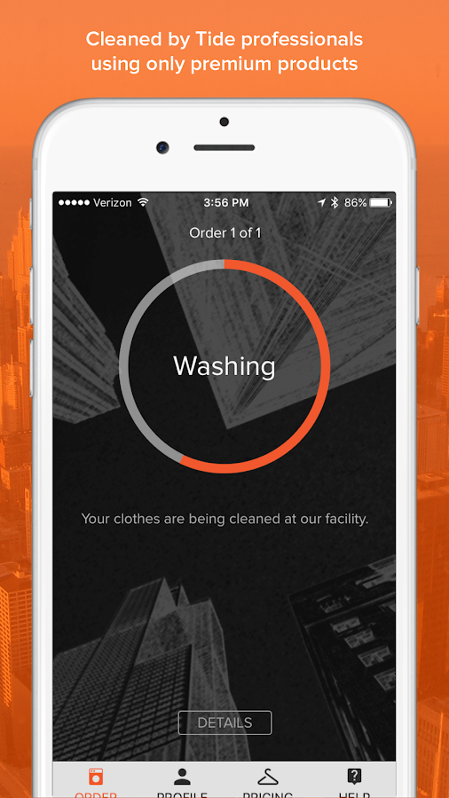 Tide Spin: Laundry & Dry Cleaning On-Demand- screenshot