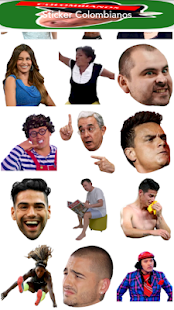 Sticker Colombiano for Whatsapp Screenshot