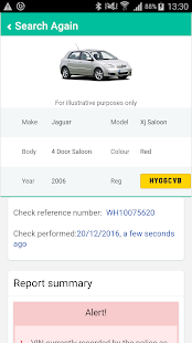 Instant Car Check- screenshot thumbnail