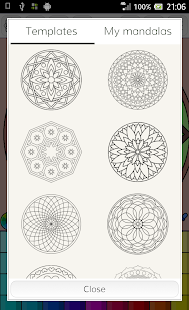 Mandalas coloring pages - Android Apps on Google Play