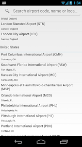 WiFly - Free Airport WiFi screenshot 1