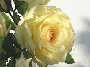 Photo: Rose aus Wafer Paper - Esspapier