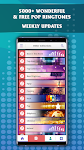 screenshot of Pop Music Ringtones 2020