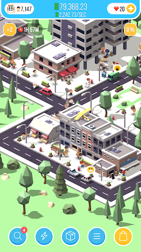 Idle Island - City Building Idle Tycoon (AR Mode) android2mod screenshots 12